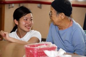 介護福祉コース 実習風景