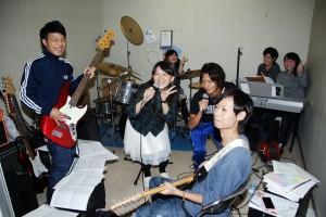 大学祭 舞台練習