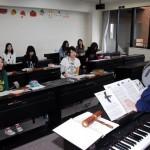 器楽活用法 少人数で授業を行います