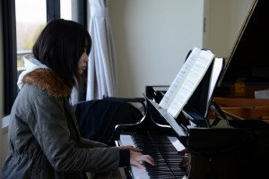 幼児教育科 音楽(ピアノ)の授業