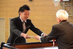 平成24年度 卒業証書・学位記授与式