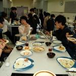 大量の料理も…けっこうみんな食べてました!
