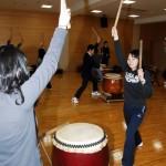 音楽療法概論 和太鼓