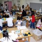 図画工作の授業