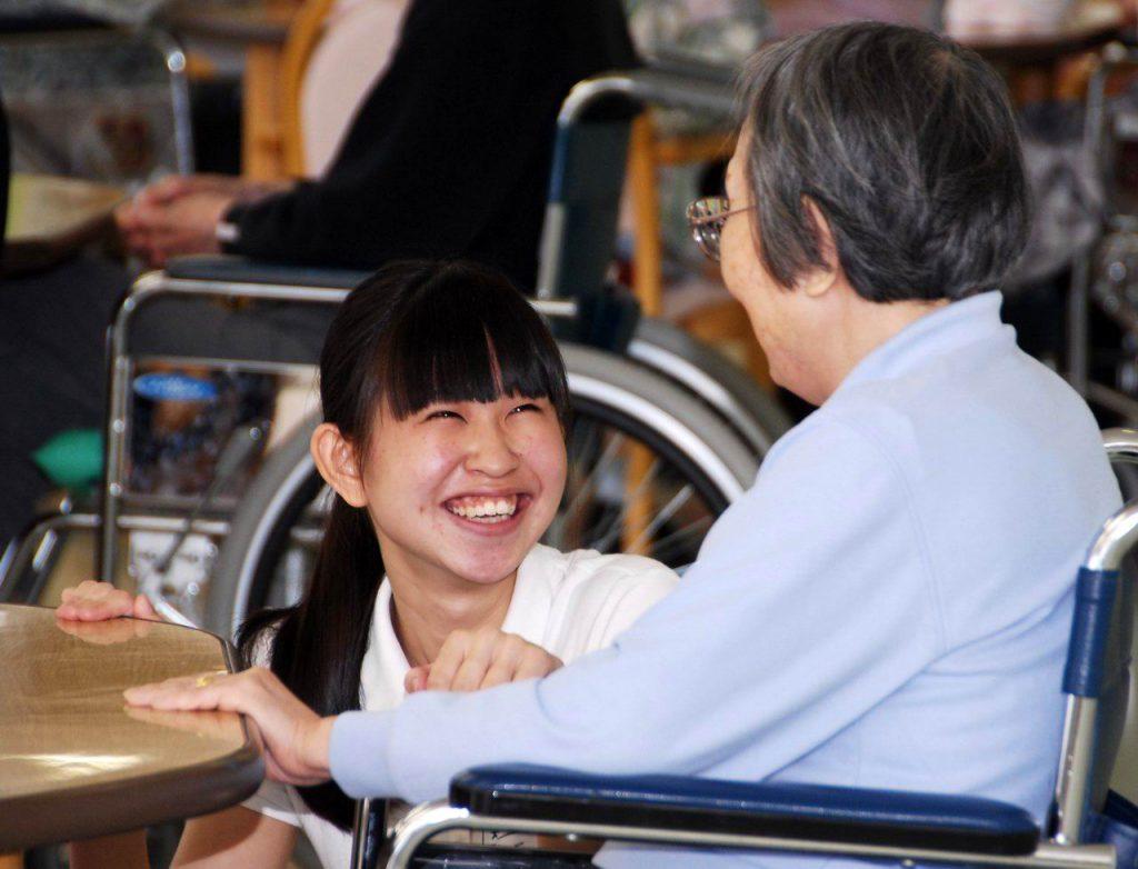 介護福祉コース2回生も実習中!