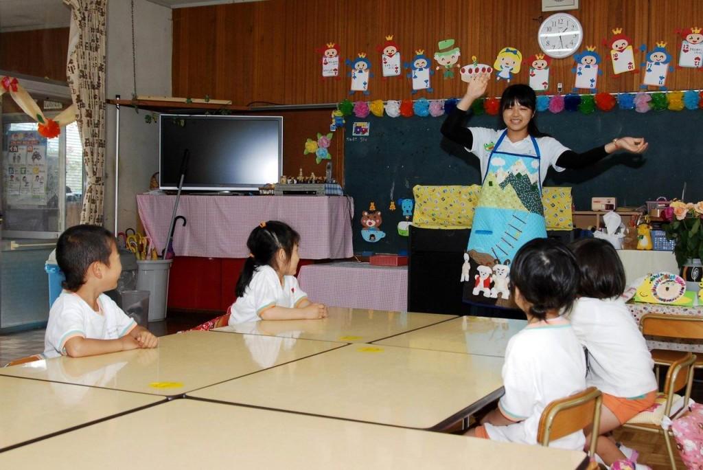 かつらぎ町立渋田幼稚園での実習