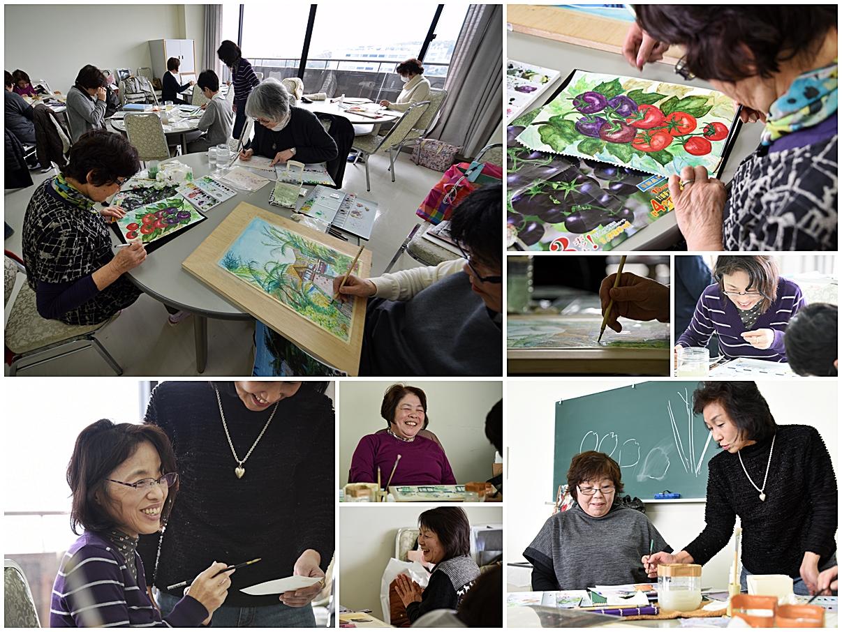 生涯学習センター講座紹介「小さな水彩画」