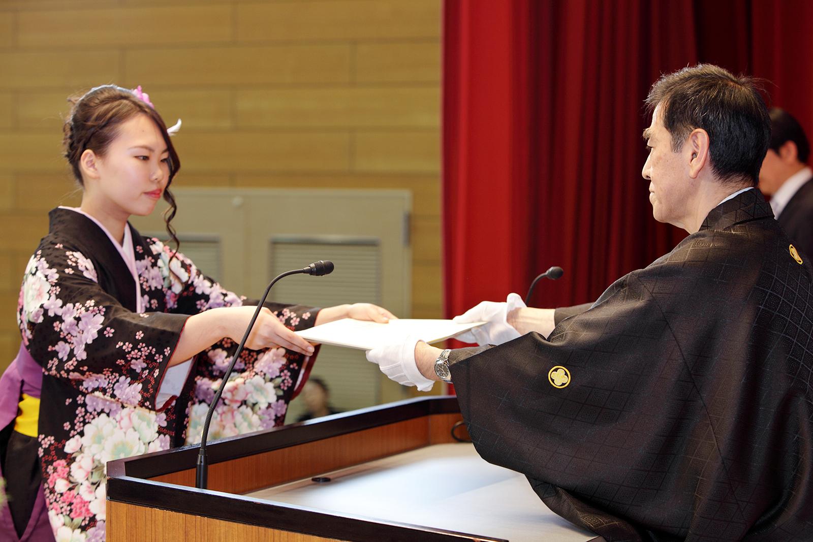 平成27年度 卒業証書・学位記授与式