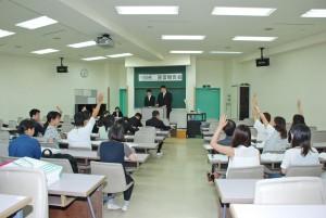 介護福祉コース1回生実習報告会