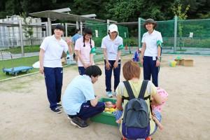 大阪千代田短期大学附属幼稚園「夏祭り」ボランティア