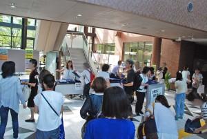 8月2日~6日まで教員免許状更新講習が行われました。