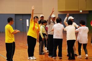 介護福祉コース1回生、河内長野市のいきいき長寿スポーツ大会に参加