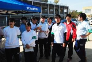 大阪千代田短期大学附属幼稚園の運動会にボランティアで参加