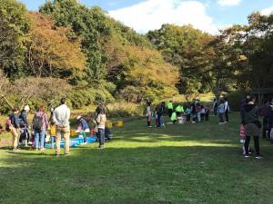 富田林・錦織公園でちよたん広場を開催しました
