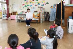 幼児教育科1回生、保育所実習
