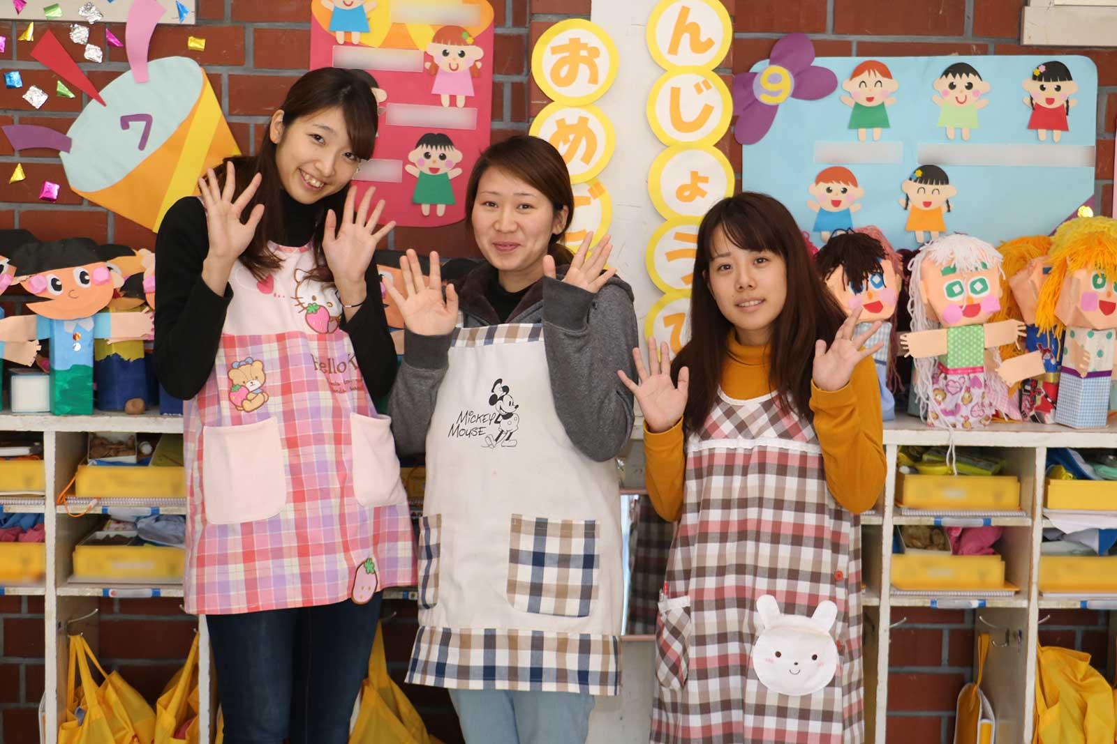 地元の保育園・幼稚園で活躍する卒業生たち 河内長野編(2)