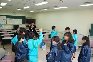 河内長野市立長野中学校がフィールドワークに来ました。