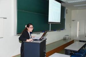 介護福祉コース、卒論発表会