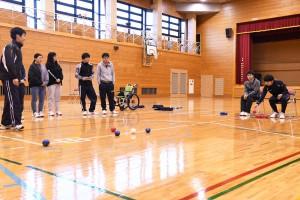 障がい者スポーツ体験③