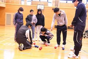 障がい者スポーツ体験④