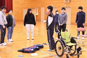 障がい者スポーツ体験